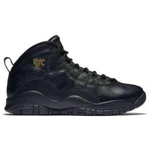 Nike Air Jordan 10 Retro New York City Sneakers 6Y
